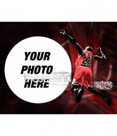 Collage of Michael Jordan