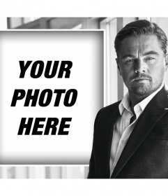 Your photo with the actor Leonardo DiCaprio with this online effect