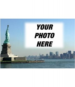 Postcard with your photo of the New York City landscape