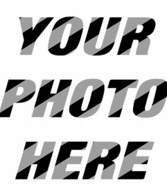 Filter with white diagonal lines on your photos for free