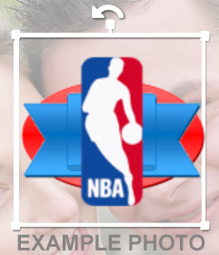 NBA team shields to put on your photo