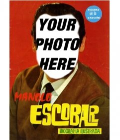 Appears as Manolo Escobar in this photomontage to put a face
