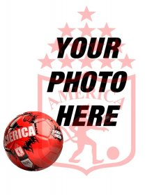 """Profile photo of America Cali""""s official football"""