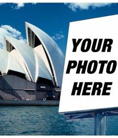 Appear in a promotional billboard in the Sydney Opera House