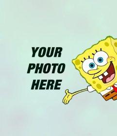 Put your photo with online Sponge Bob
