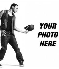 Jason Derulo Photomontage to put your picture next