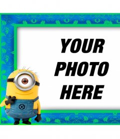 """Photo frame with Minion from the movie """"Gru, Despicable Me"""""""