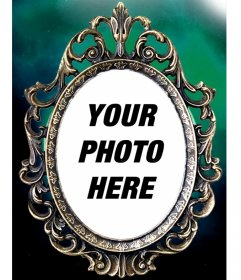 Victorian frame with gothic touch to frame your photos