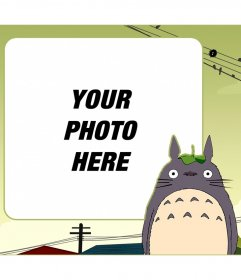 Children frame to put your picture next to My Neighbor Totoro