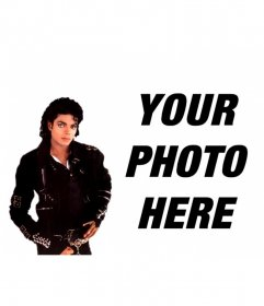 Photomontage to put your picture next to Michael Jackson