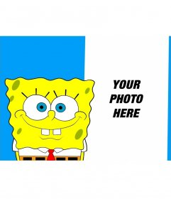 Collage to put your photo with SpongeBob