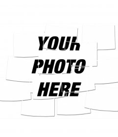Photo Effect to your photograph will look like a composite of multiple photos