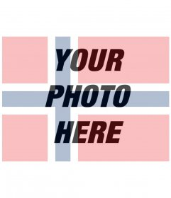 Filter of Norway flag for your pictures for free