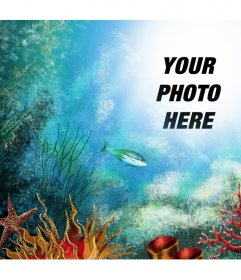 Take a trip to the deep sea by uploading your photo to this online effect