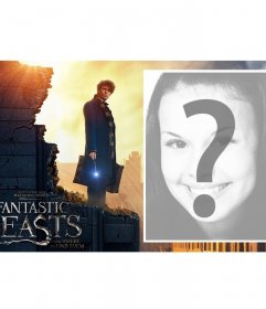 Movie Poster of Fantastic Beasts to add your picture