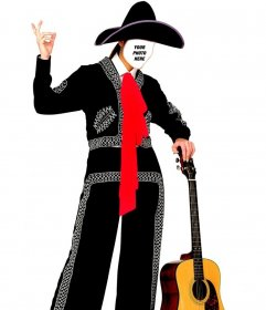 Get dressed as a mariachi with this effect to edit online and free
