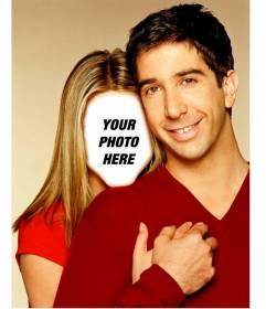 Photomontage to become in Rachel from the series Friends