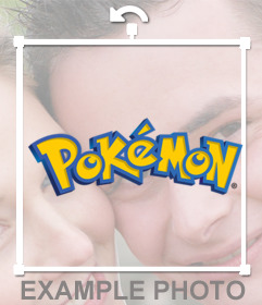 Logo of Pokemon that you can add in your pictures for free