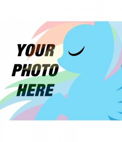 Children Photomontage to put your photo with Pony Dash