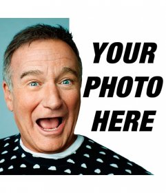 Smile with Robin Williams with this photomontage of the actor