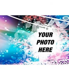 Christmas Facebook cover photo to your photo
