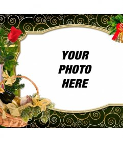 Christmas card to personalize with your photo