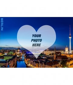 Postcard with a picture of Berlin