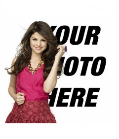 Put your photo together with Selena Gomez