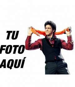 Photomontages with actor Shahrukh Khan