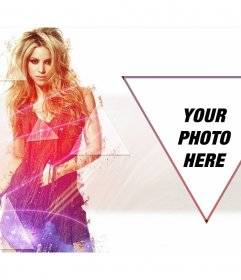 Photomontage to put your picture next to Shakira