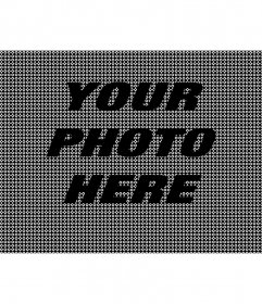 Online black textured effect for your photos