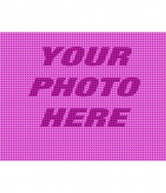 Pink texture to apply to your photos with star shapes