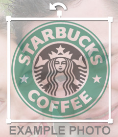 Logo of the famous Starbucks to insert into any of your photos with this photo editor and logos