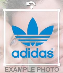 Sticker of Adidas Originals logo for your photos