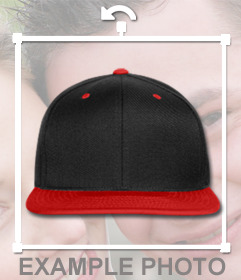 Hip hop style hat to put on your pictures and for free