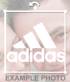 Adidas Sport logo to add on your photos for free