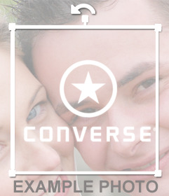 Logo of famous shoes brand CONVERSE to add in your photos