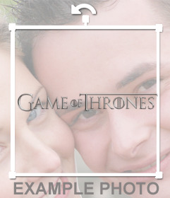 Logo of Game of Thrones to put on your photos for free
