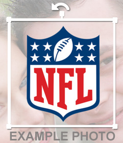 NFL logo to decorate your photos and for free