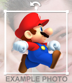Mario Bros in your photos with this free effect