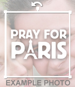 Solidarize with Paris with this Sticker of Pray for Paris