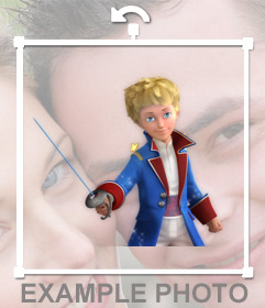 Sticker  of The Little Prince character to put on your photos