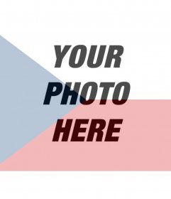 Photomontage to paint a face or picture on transparency with the flag of The Czech Republic, just upload the picture, edit them online and you can save or send to your friends via email