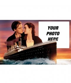 Photo frame from the movie Titanic