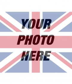 UK flag filter for your photo