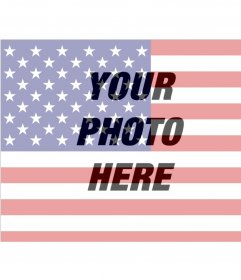 Images of the United States flag to put on your photo