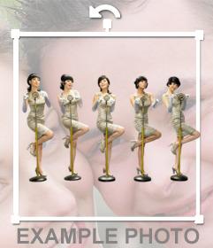 Wonder Girls Sticker