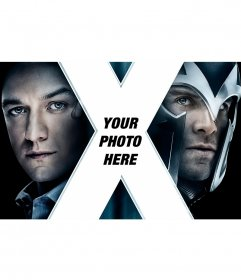 X-Men Poster with your picture