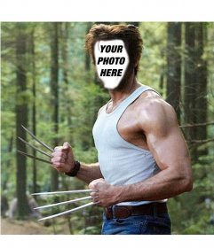 Become in Wolverine from the movie X Men with this mounting